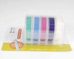 Labelmaker tape 5 x 2 m 9 mm breed pastel