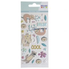 Puffy stickers No Stress & Co