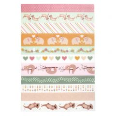 Washi tape 3 vellen No Stress & Co