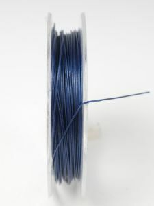 Nyloncoated draad 10 m donkerblauw