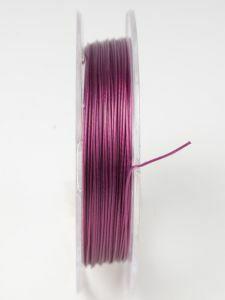Nyloncoated draad 10 m fuchsia