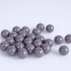 Glasparel 8 mm opaak ca. 25 stuks taupe