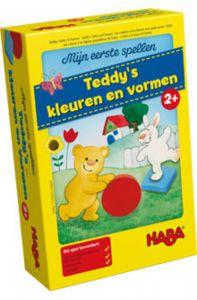 Haba Teddy's kleuren en vormen 1,5+
