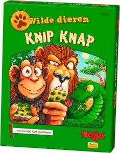 Haba kaartspel Wilde dieren 4+