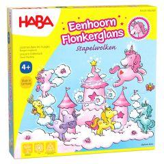 Haba Eenhoorn Flonkerglans - stapelwolken 4+
