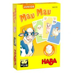 Haba kaartspel Mau Mau junior - Boerderij 3+