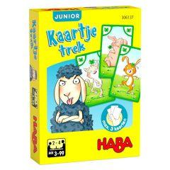 Haba kaartspel Kaartje trek junior - Schaap en co 3+