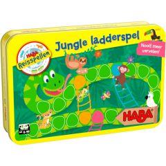 Haba magnetisch reisspel in blik Jungle ladderspel 4+