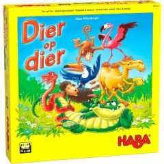 Haba Dier op dier - Het wankele stapelspel 4+