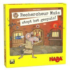 Haba Rechercheur Muis stopt het gespuis! 5+