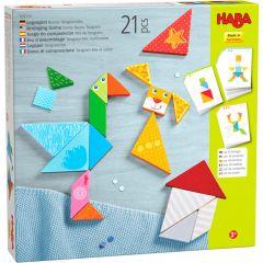 Haba kleurrijke tangrammix 3+