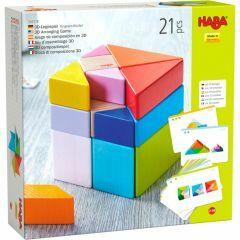 Haba 3D-compositiespel tangramkubus 2+