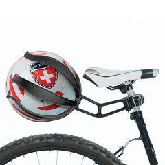 Kikball zwart balhouder voor fiets