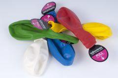 Ballonnen met gekleurde leds 5 stuks (max. 10 uur)