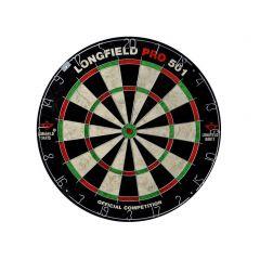 Wedstrijddartboard Longfield in sisal PRO501