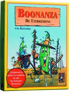 Kaartspel uitbreiding Boonanza 10+