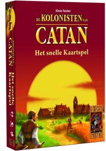 Het snelle kaartspel: Kolonisten van Catan 8+
