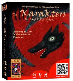 Kaartspel uitbreiding Weerwolven: karakters 10+