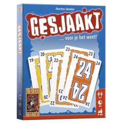 Kaartspel Gesjaakt 8+