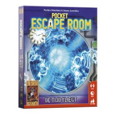 Pocket Escape room - De tijd vliegt 12+