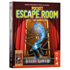 Pocket Escape Room - Achter het gordijn 12+