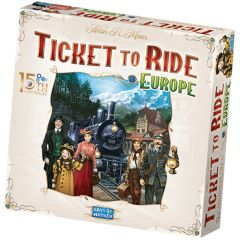 Ticket to Ride - Europa (15th anniversary deluxe, lim.ed.)8+