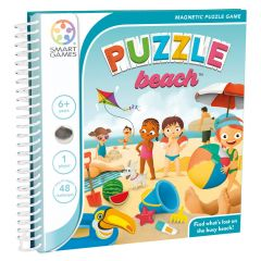 Magnetic Travel Puzzle Beach 6+