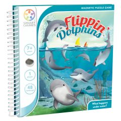 Magnetic Travel Flippin' Dolphins 7+