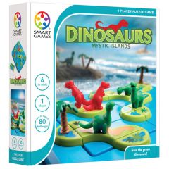 Smart Games Dinosaurs - Mystic Islands 6+