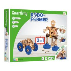 Smartivity roboformer 2in1 - robot of voertuig 6+