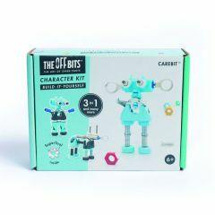 Offbits medium Carebit 3-in-1 karakterset blauw