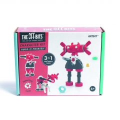 Offbits medium Artbit 3-in-1 karakterset rood