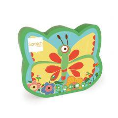 Minispel Vang een vlinder 3+