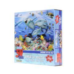 3D-puzzel 150 stuks dolfijnen in het rif 5+