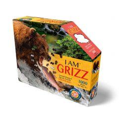 Puzzel 1000 stuks I Am Grizz 102 x 74 cm 12+