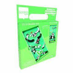 Magnetische puzzel & knikkerbaan panda 3+