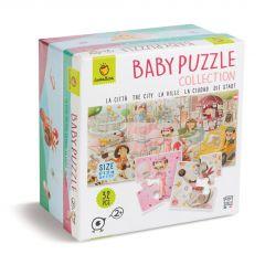 Babypuzzel De stad 32 stukjes 2+