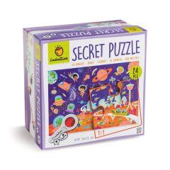 Secretpuzzel De ruimte 24 stukjes 3+
