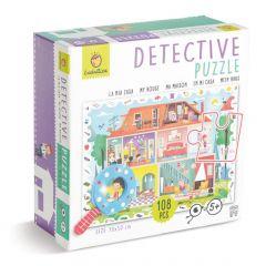 Detective puzzel Mijn huis 108 stukjes 5+