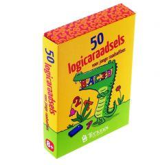 50 logicaraadsels voor jonge raadselfans 8+