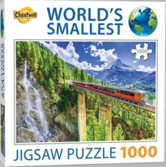 World's smallest puzzle - Matterhorn 1000 stukjes
