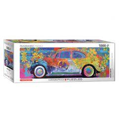 Volkswagen LOVE-busje panoramapuzzel 1000 stukjes