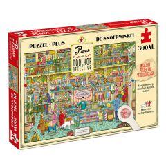 Pierre Doolhofdetective - Snoepwinkel (Puzzel 300 XL stuks)