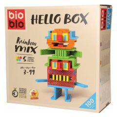 Bioblo Hello Box (regenboogmix) 100 stuks