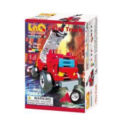 LaQ Hamacron Constructor mini brandweerwagen 38 + 9 stuks