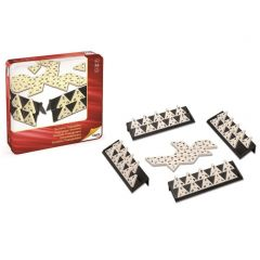 Triangle domino in metalen box