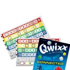 Qwixx Connected scoreblok (2 varianten) 2 x 80 scoreblaadjes