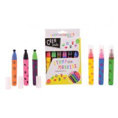 Crea Kids Stamp markers 6 stuks