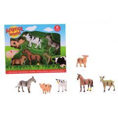 Animal World 6 boerderijdieren