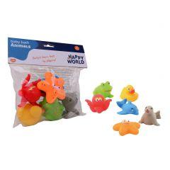 Schenkspeelgoed - Guitige baddiertjes 6 stuks